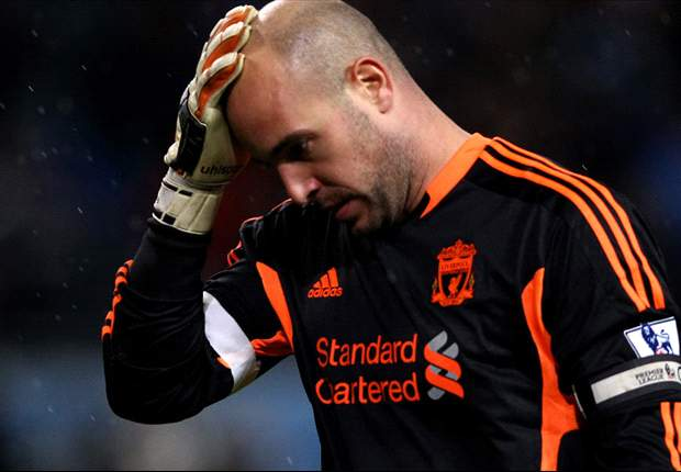 Reina's agent dismisses rumours of Liverpool exit