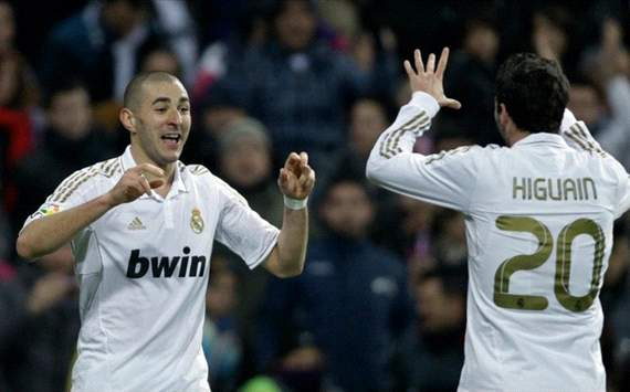 Higuain vs Benzema Top 10 Goals 2012 HD