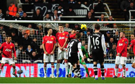 EPL: Yohan Cabaye, Newcastle United v Manchester United