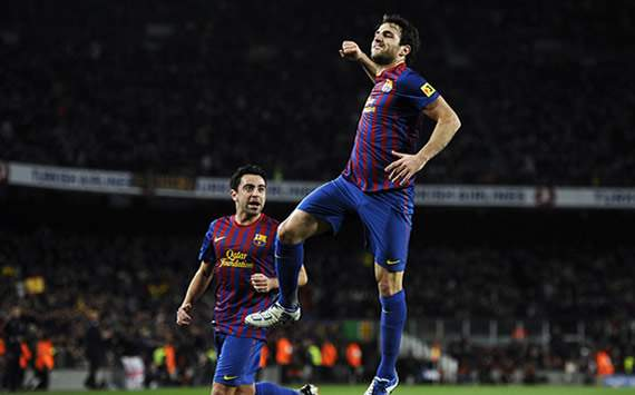 Copa del Rey: Barcelona-Osasuna: Cesc Fábregas