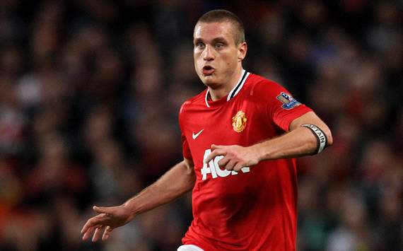 EPL: Nemanja Vidic, Manchester United v Newcastle United