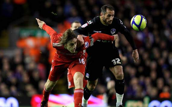 FA Cup,Sebastian Coates,Liverpool v Oldham Athletic