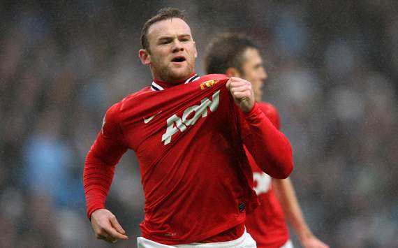 FA Cup: Wayne Rooney, Manchester City v Manchester United 