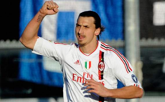 TEAM NEWS: Ibrahimovic and Del Piero both start AC Milan-Juventus Coppa Italia semi-final clash