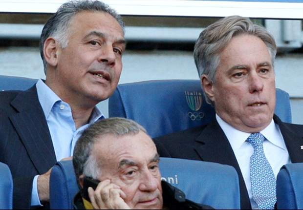 Nella capitale sbarca James Pallotta, assister con la prole a Roma-Milan: &quot;Voglio fare vedere a mio figlio quanto sono grandi i nostri tifosi&quot;