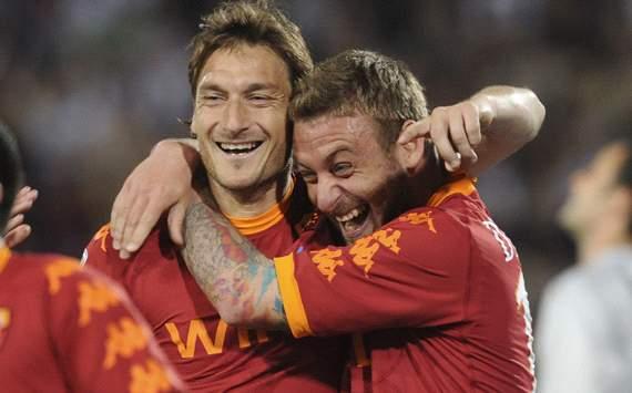 Totti & De Rossi - Roma (Getty Images)