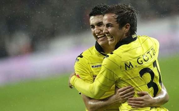 Nuri Sahin, Mario Götze - Borussia Dortmund