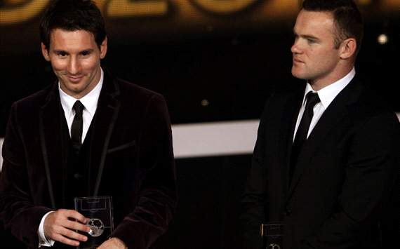 Wayne Rooney: Lionel Messi Di Atas Cristiano Ronaldo