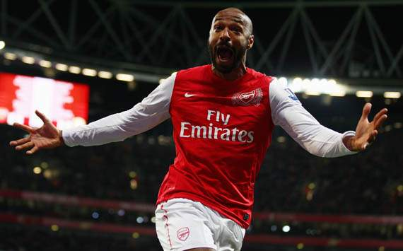 Thierry Henry to train with Arsenal in December ahead of possible loan return