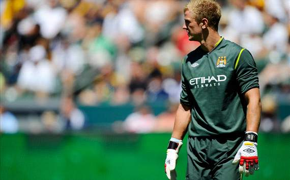 Given: Hart will continue to get better for Manchester City and England