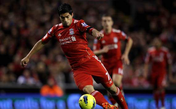 EPL,Luis Suarez,Liverpool v Manchester City