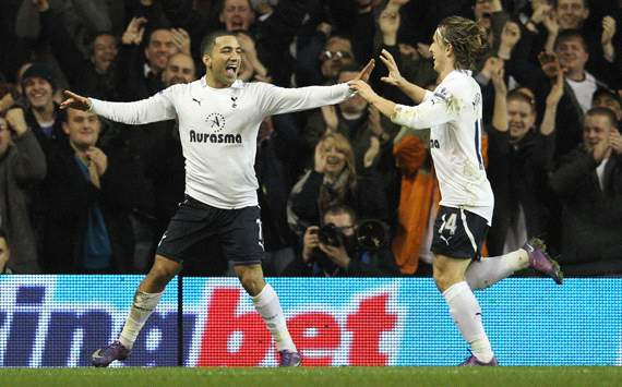 EPL: Aaron Lennon - Luka Modric, Tottenham v Everton