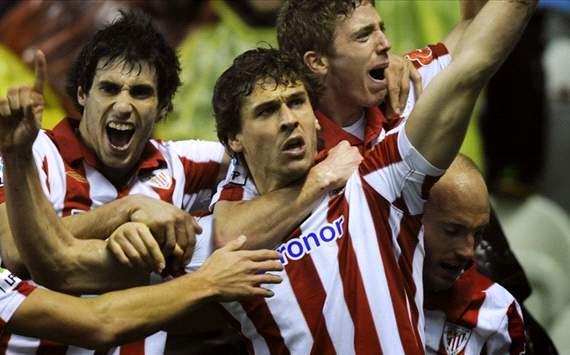 Javi Martinez, Iker Muniain y Fernando Llorente - Athletic Bilbao