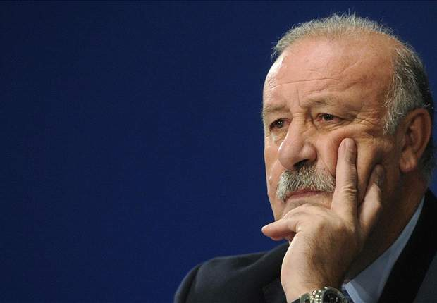 Del Bosque happy with Spain victory: Everything was positive
