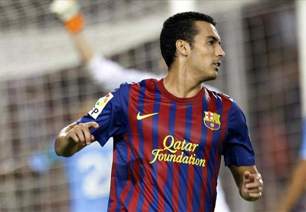 Pedro confident Barcelona can eliminate Milan from Champions League