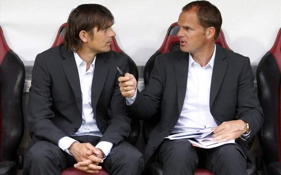 Philip Cocu and Frank de Boer
