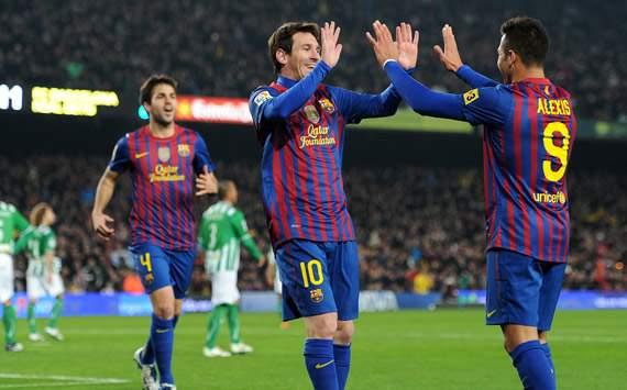 Liga BBVA: Barcelona-Betis