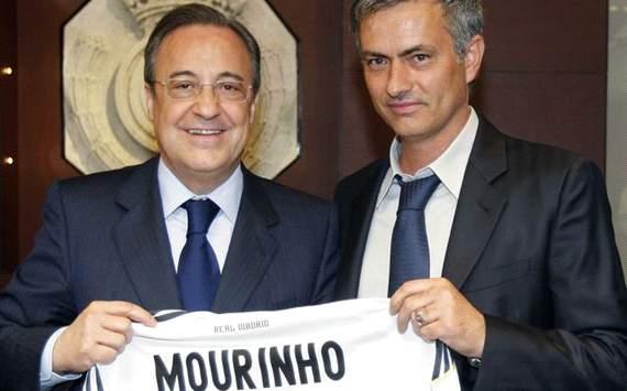 Florentino Perez y Jose Mourinho - Real Madrid