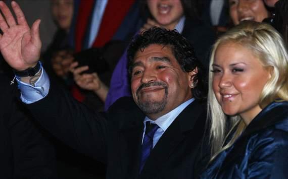 Maradona & Veronica Ojeda