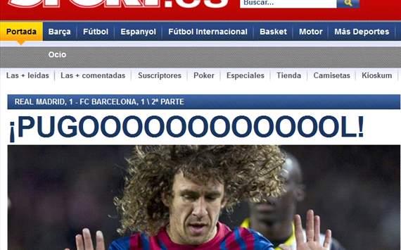Clasico : Real Madrid - Barcelona (Copa Del Rey)
