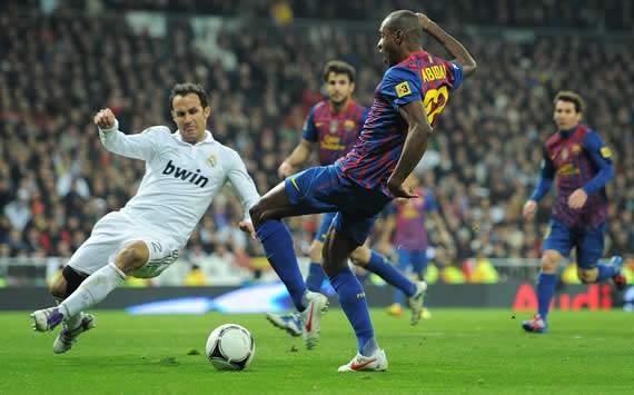 Eric Abidal, Real Madrid, Barcelona