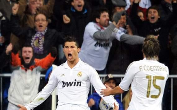 Ronaldo, real madrid Vs barcelona