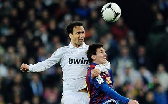 Copa del Rey: Real Madrid-Barcelona: Ricardo Carvalho, Lionel Messi