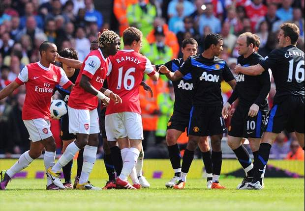 An epic rivalry - The top 10 Arsenal v Manchester United matches in the 21st century