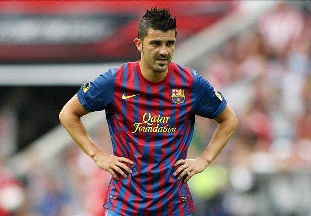 Villa remains on course to return for Barcelona before season's end