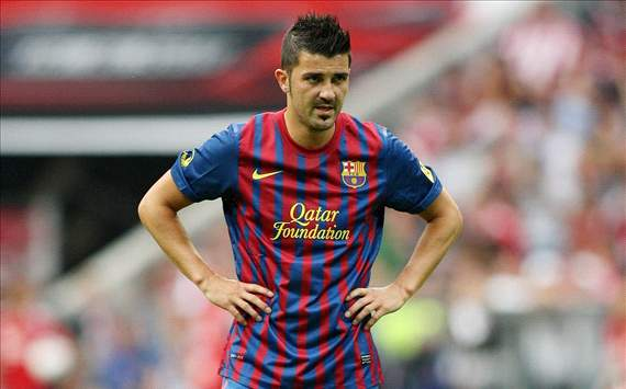 Barcelona forward Villa to return against Manchester United - report