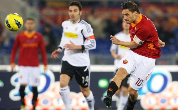 Francesco Totti - As Roma-Cesena - Serie A (Getty Images)
