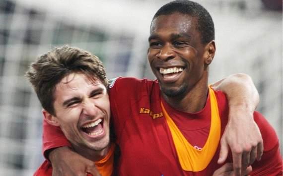Juan and Fabio Borini - As Roma-Cesena - Serie A (Getty Images)