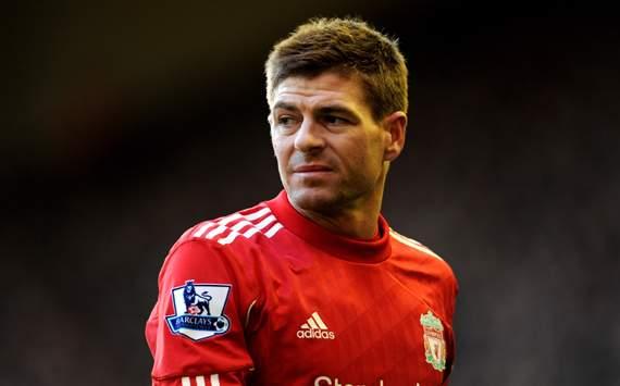 EPL - Liverpool v Stoke City, Steven Gerrard