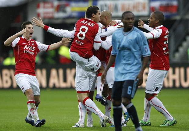 AZ 1-1 Ajax: Simon Poulsen own goal costs hosts victory