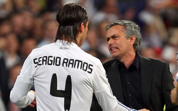 Liga BBVA: Jose Mourinho, Sergio Ramos