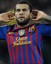 Dani Alves - Barcelona (Getty Images)