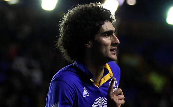 Fellaini: I would leave Everton for an ambitious club