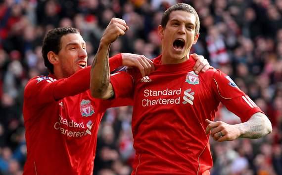 FA - Cup , Liverpool vs Manchester United,Daniel Agger & Maxi