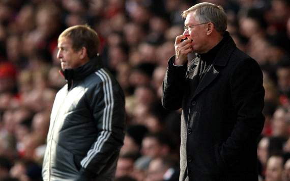 FA Cup: Sir Alex Ferguson - Kenny Dalglish, Liverpool v Manchester United