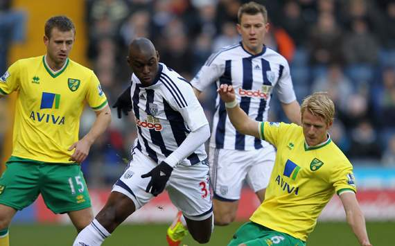 FA Cup,Marc Antoine Fortune,West Bromwich Albion v Norwich City