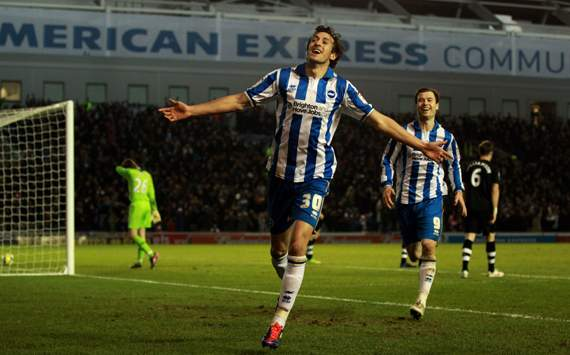 FA Cup,Will Buckley,Brighton & Hove Albion v Newcastle United