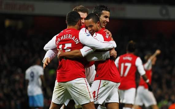 FA Cup,Theo Walcott,Arsenal v Aston Villa