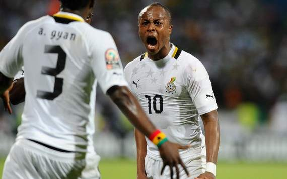 Ghana FA excited at Andre Ayew's nomination on the five-man shortlist for the 2012 African player of the year award