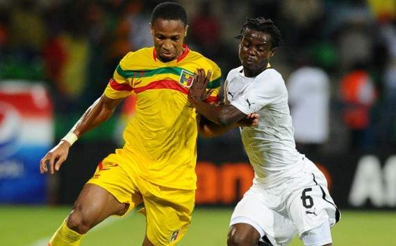 Momo Sissoko, Seydou Keita lead Malis 28-man provisional squad for 2013 Afcon