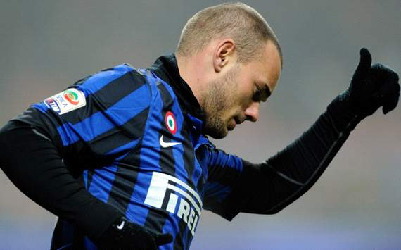 Anzhi Makhachkala prepare €25 million offer for Inter star Wesley Sneijder - report