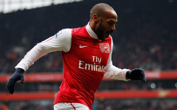 EPL - Arsenal vs Blackburn, Thierry Henry