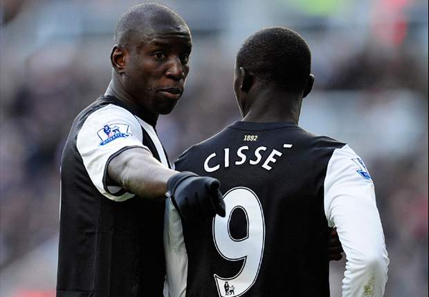 Cisse urges Newcastle not to sell Demba Ba