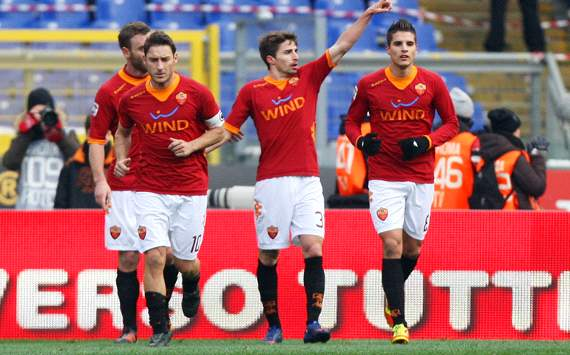 Roma celebrating (Getty Images)