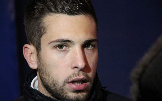 166609hp2 Barcelona play the best football but Im focused on Spain, insists Alba
