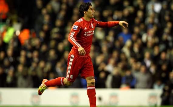 EPL - Liverpool v Tottenham Hotspur, Luis Suarez